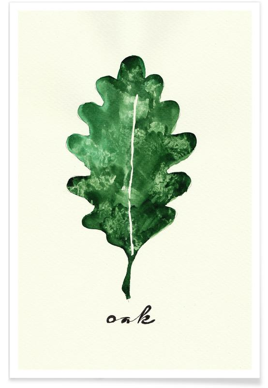 Oak -Poster