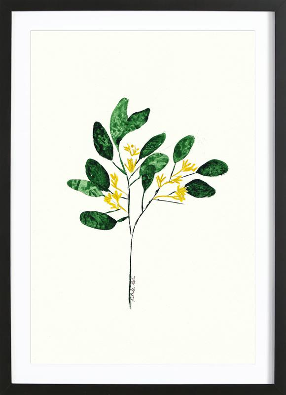 Wild Plant ingelijste print