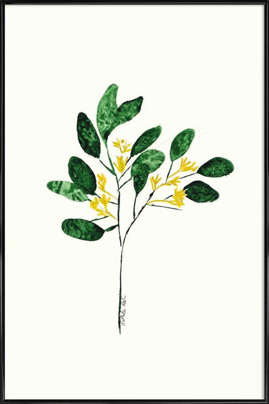 Wild Plant ingelijste poster
