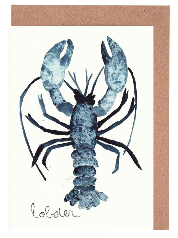 Lobster Greeting Card Set