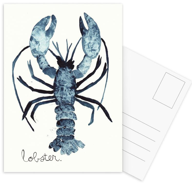 Lobster Postcard Set