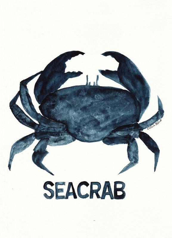 Seacrab Canvas Print