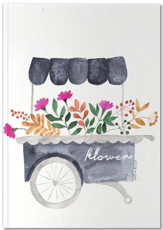 Fahrräder, Flowers Market Notebook