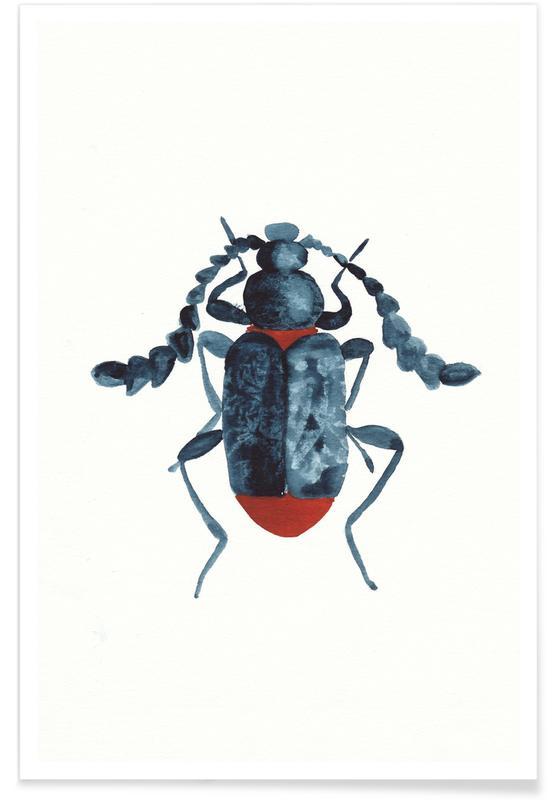 Blue Beetle -Poster