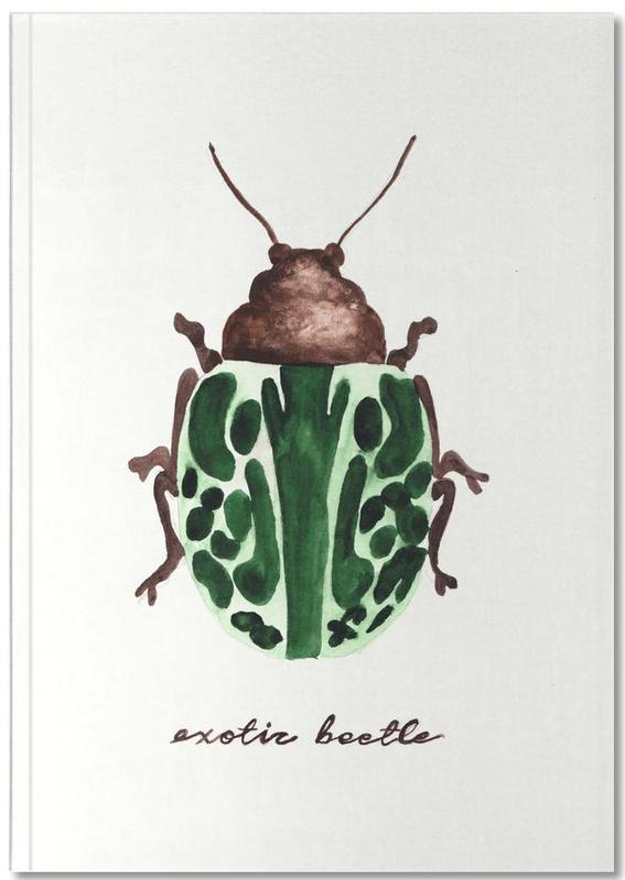 Exotic Beetle Notebook