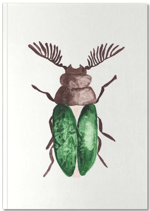Greeny Beetle Notebook