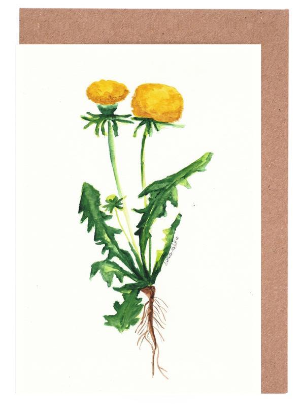 Löwenzahn Greeting Card Set