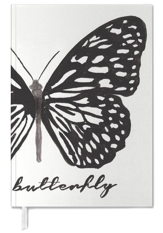 Noir & blanc, Papillons, My butterfly agenda