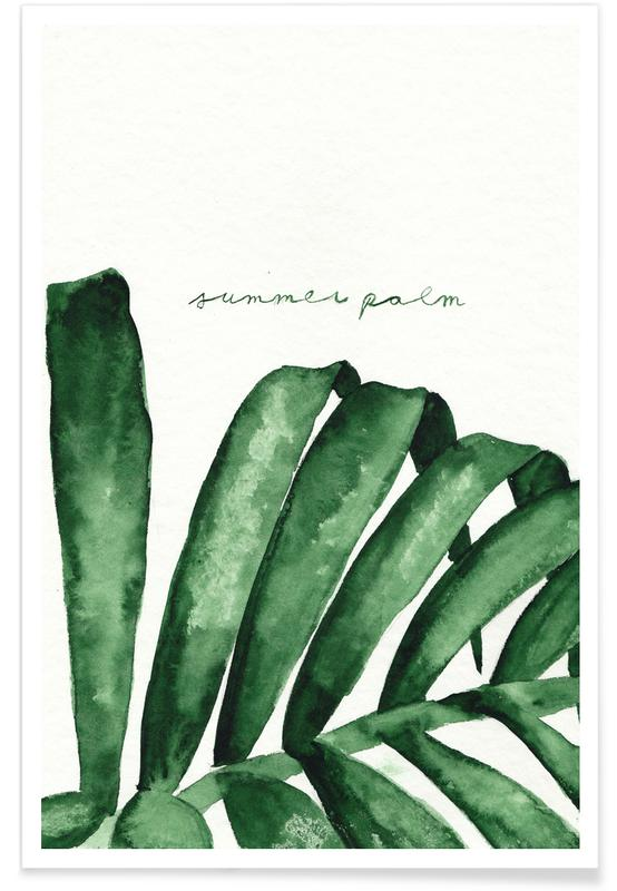 Summer Palm poster