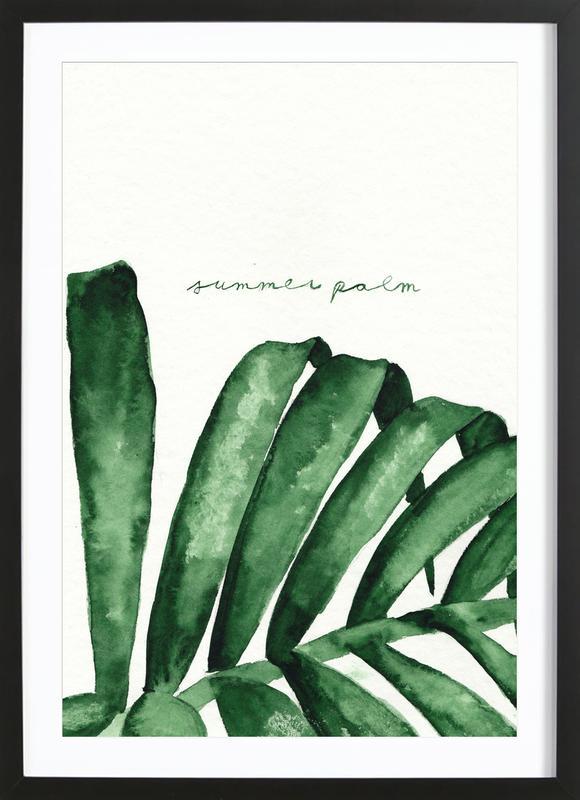 Summer Palm Framed Print