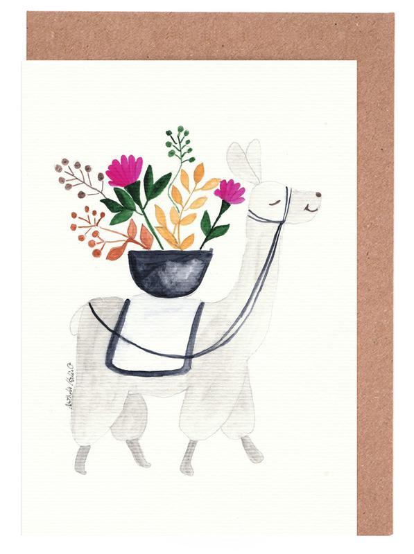 Blumenlama Greeting Card Set