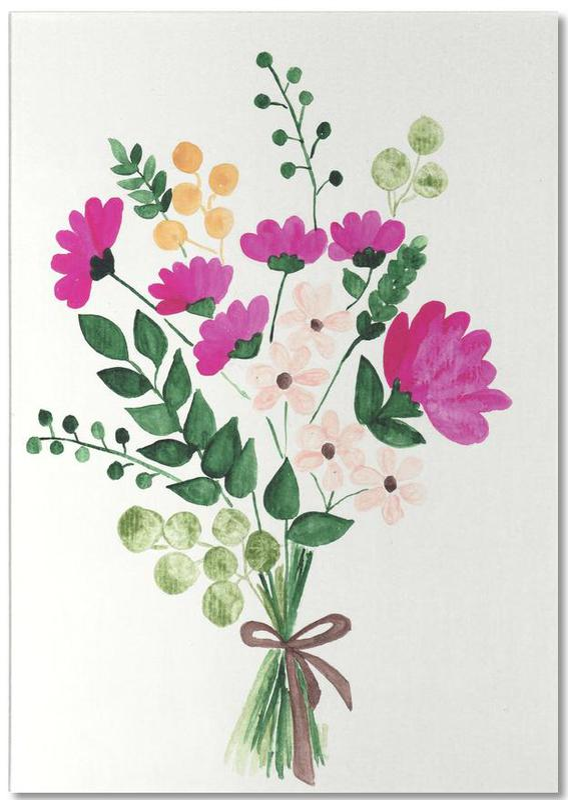 Bouquet Notepad
