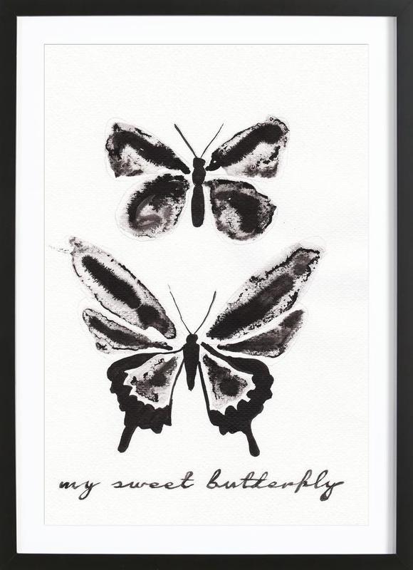 My sweet butterfly Framed Print