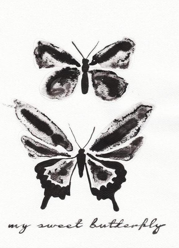 My sweet butterfly -Leinwandbild