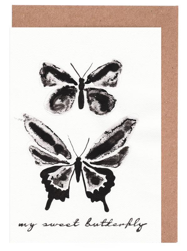 My sweet butterfly cartes de vœux
