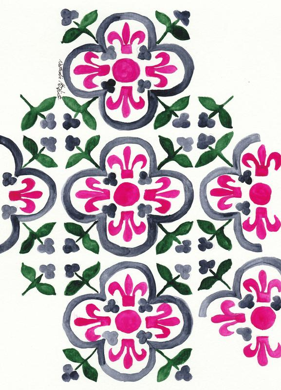 Morocco Love Canvas Print