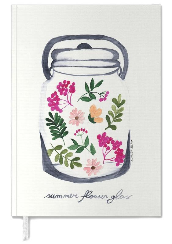 Summer Flower Glass -Terminplaner