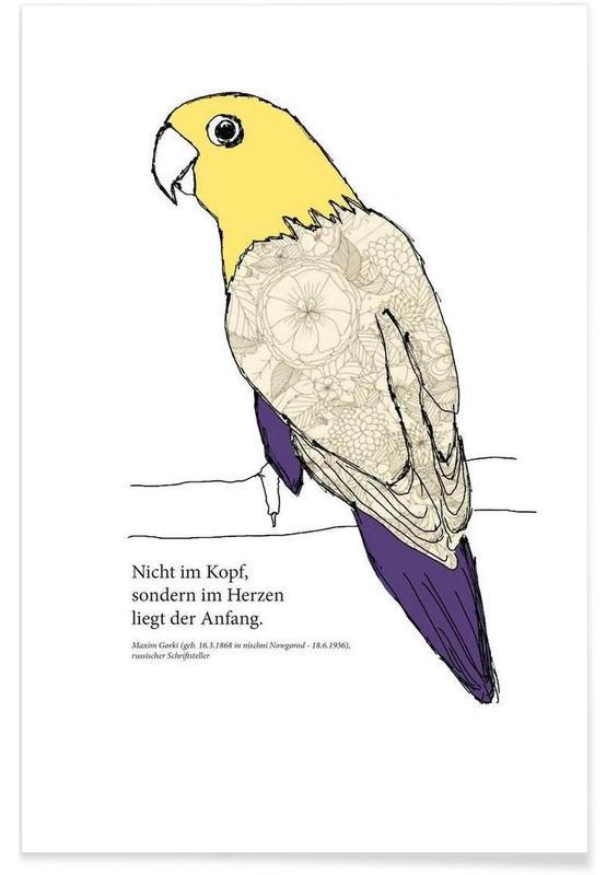 Perroquets, Balu affiche