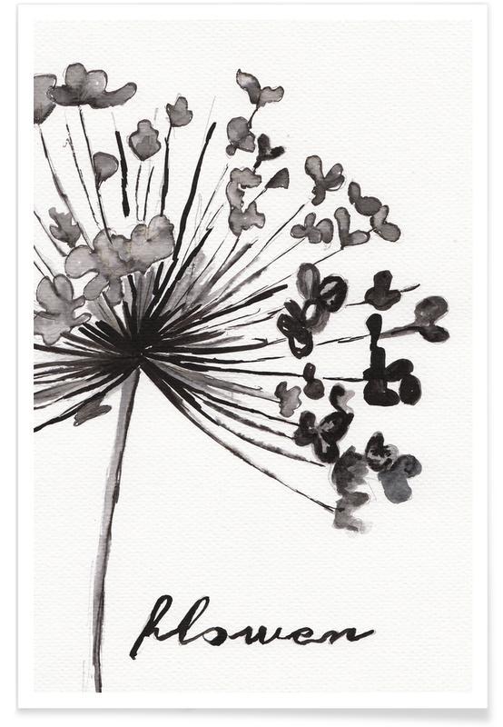 Flower affiche