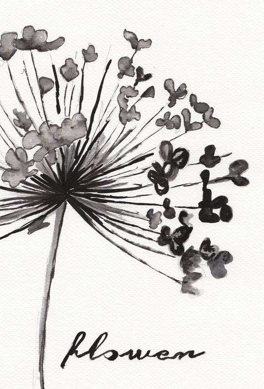 Flower Impression sur alu-Dibond
