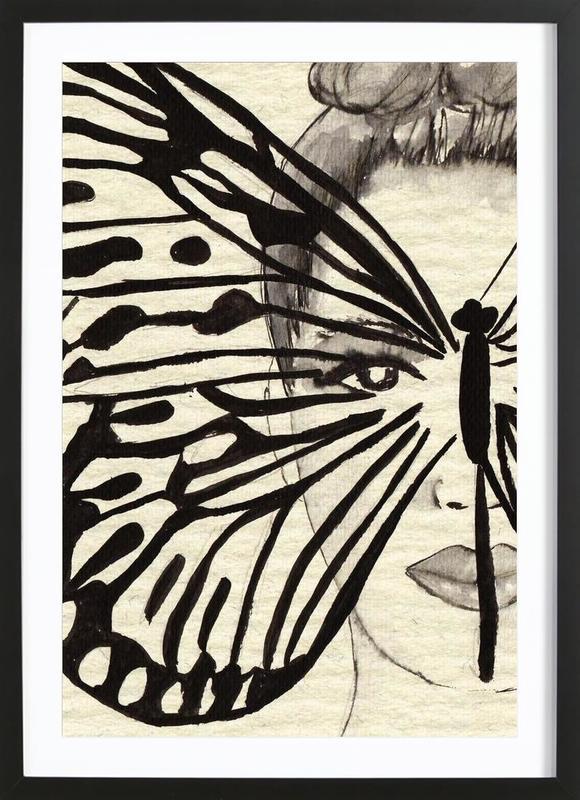 Mystic Butterfly Framed Print
