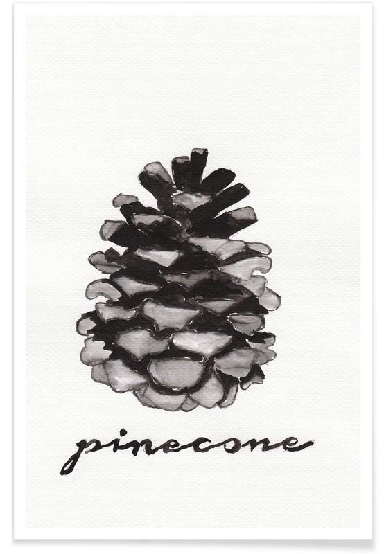 Pine Cone -Poster