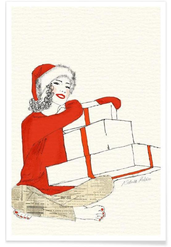Noël, Happy Christmas affiche