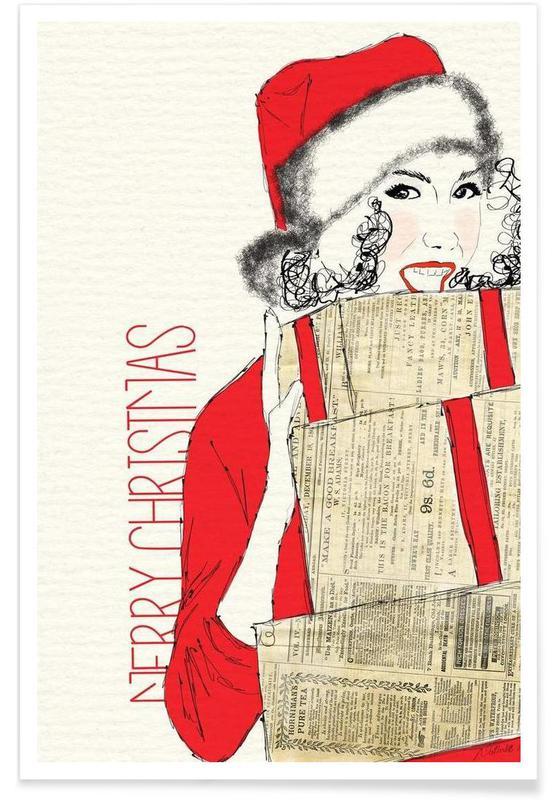 Noël, Merry Christmas affiche