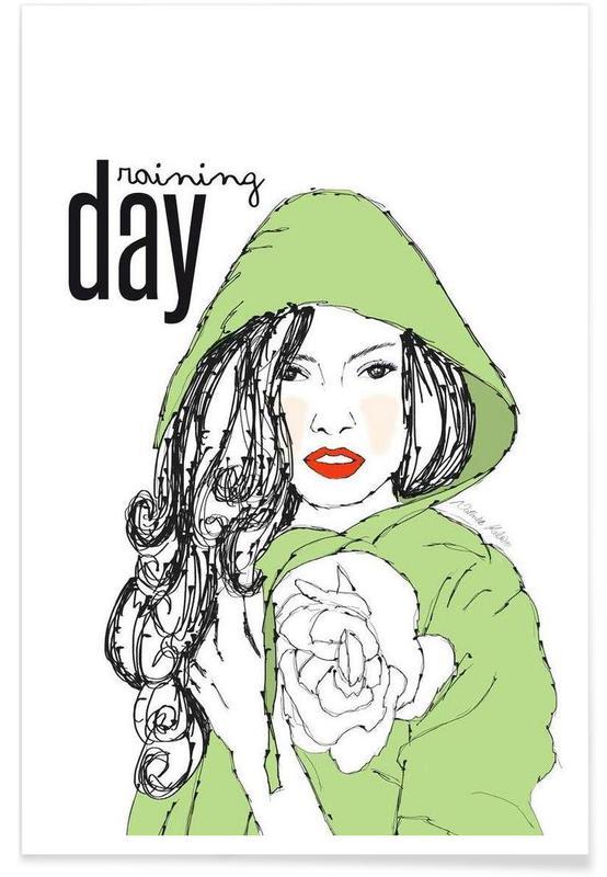 Raining Day -Poster