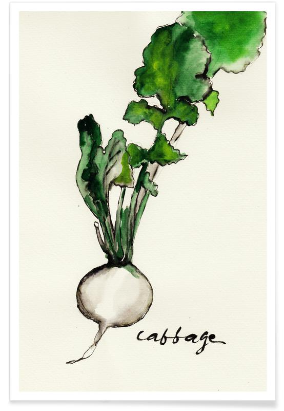, Cabbage Poster