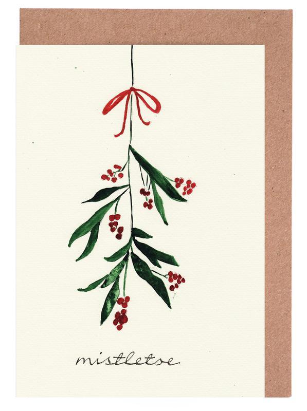 Mistletoe Greeting Card Set