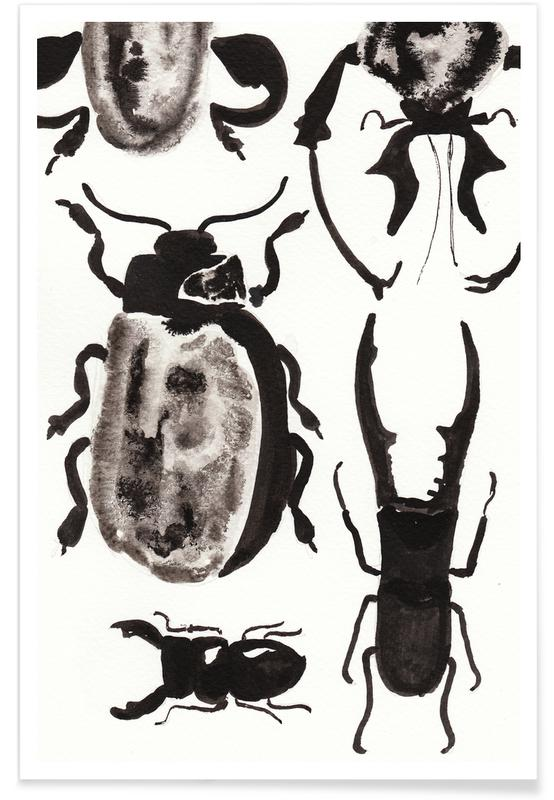 Biller, The beetles are on the loose Plakat