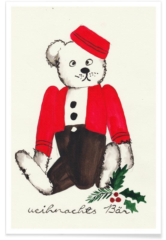 Weihnachtsbär -Poster