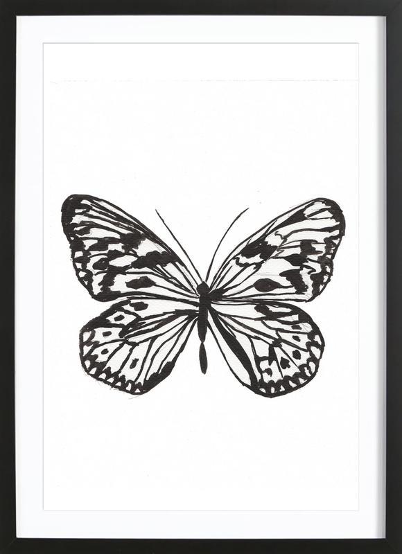 Butterfly No. 45 ingelijste print