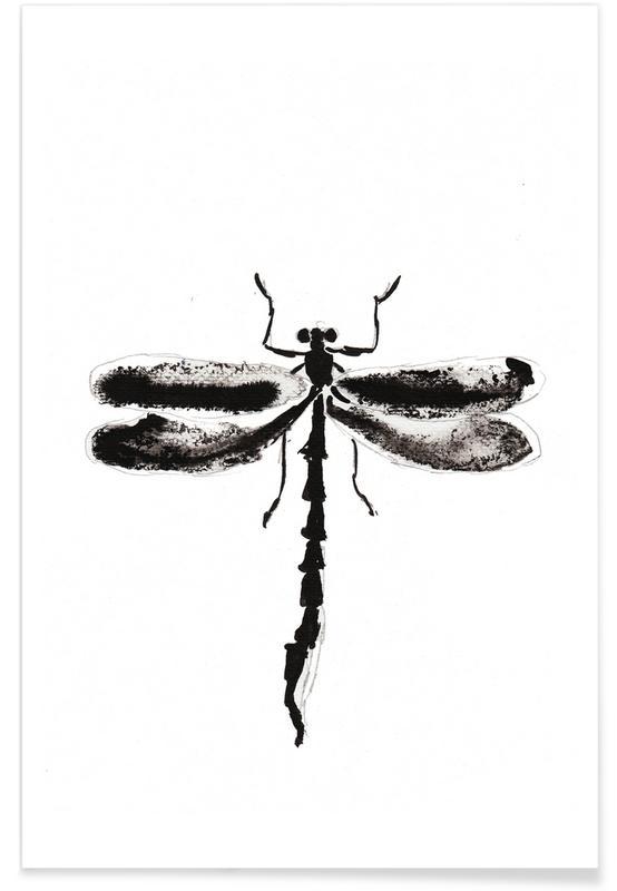 Dragonflies, My Libella Poster