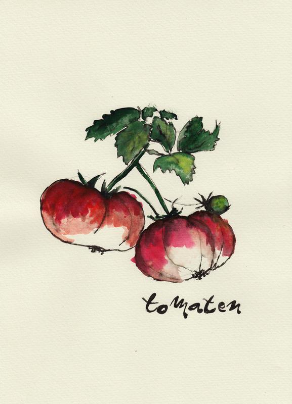 Tomaten toile