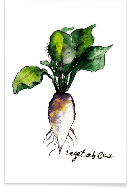 Wortels, Vegetables poster