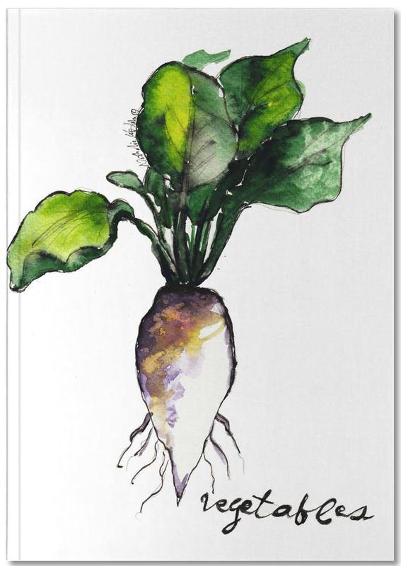 Vegetables Notebook