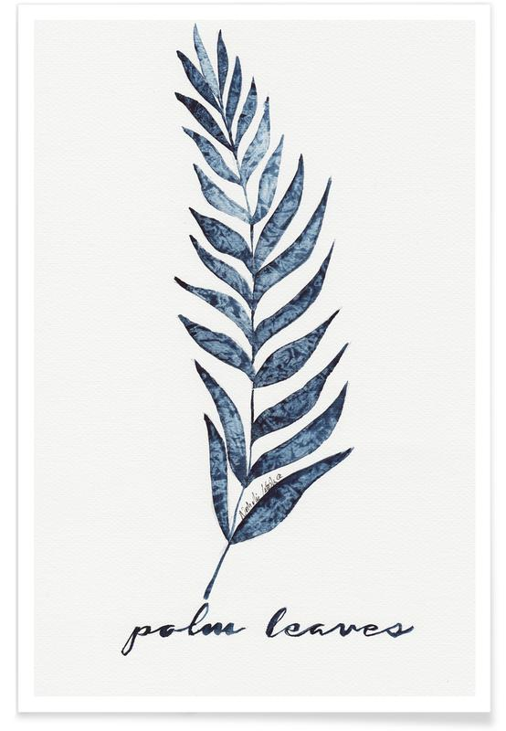 Palm Leaves -Poster