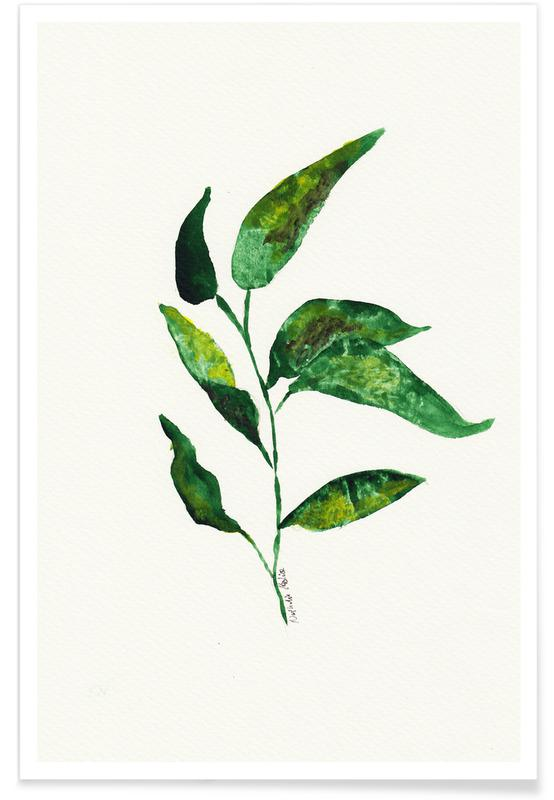 Growing Plant -Poster