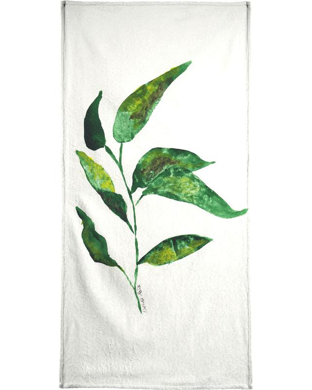 Growing Plant Beach Towel