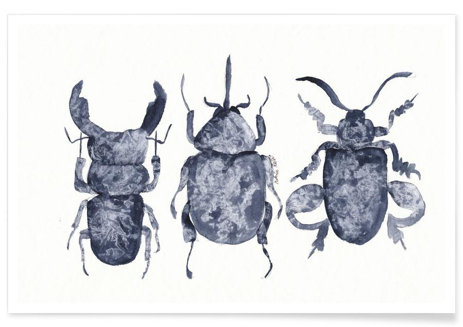 Biller, The Beetle Show Plakat