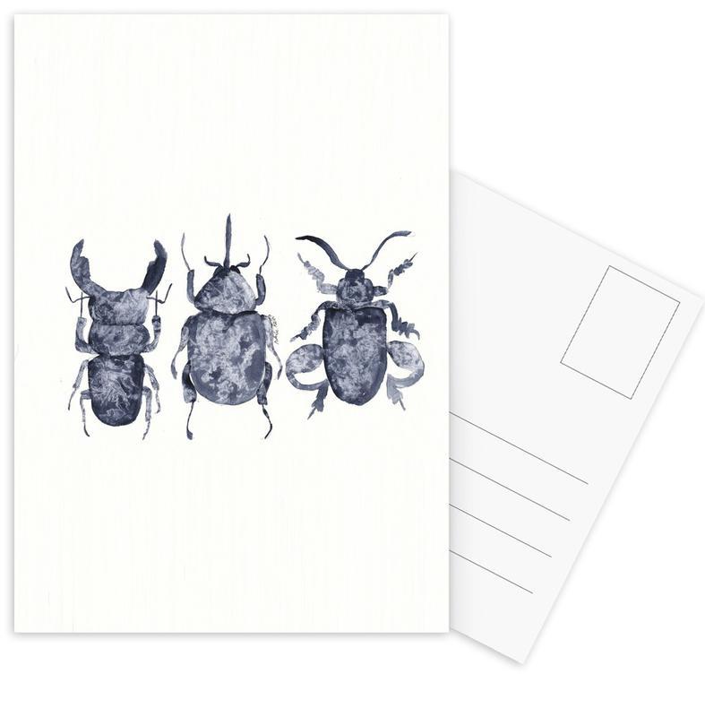 The Beetle Show Postcard Set