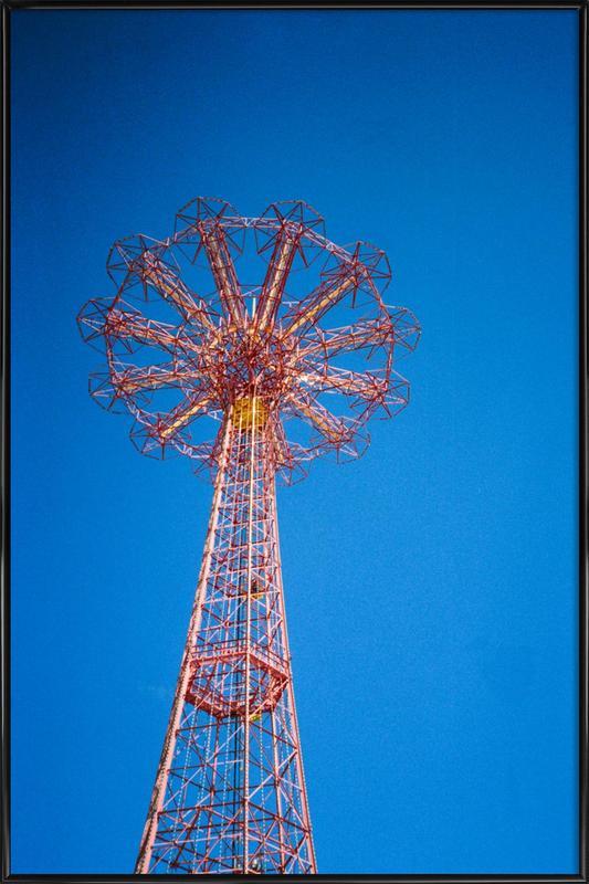 Coney Island 1 ingelijste poster
