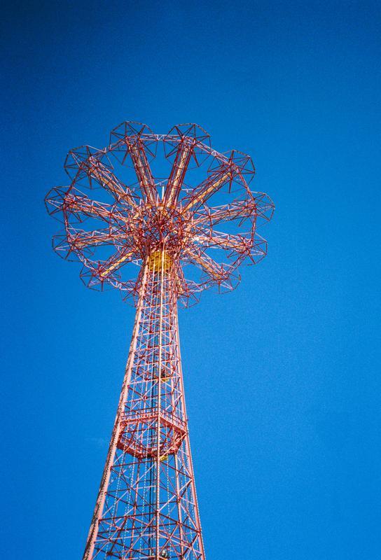 Coney Island 1 alu dibond