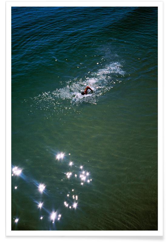 Ozeane, Meere & Seen, Schwimmen, Wet -Poster
