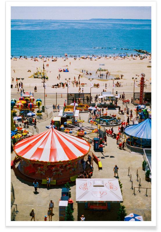 New York, Coney Island 3 Poster