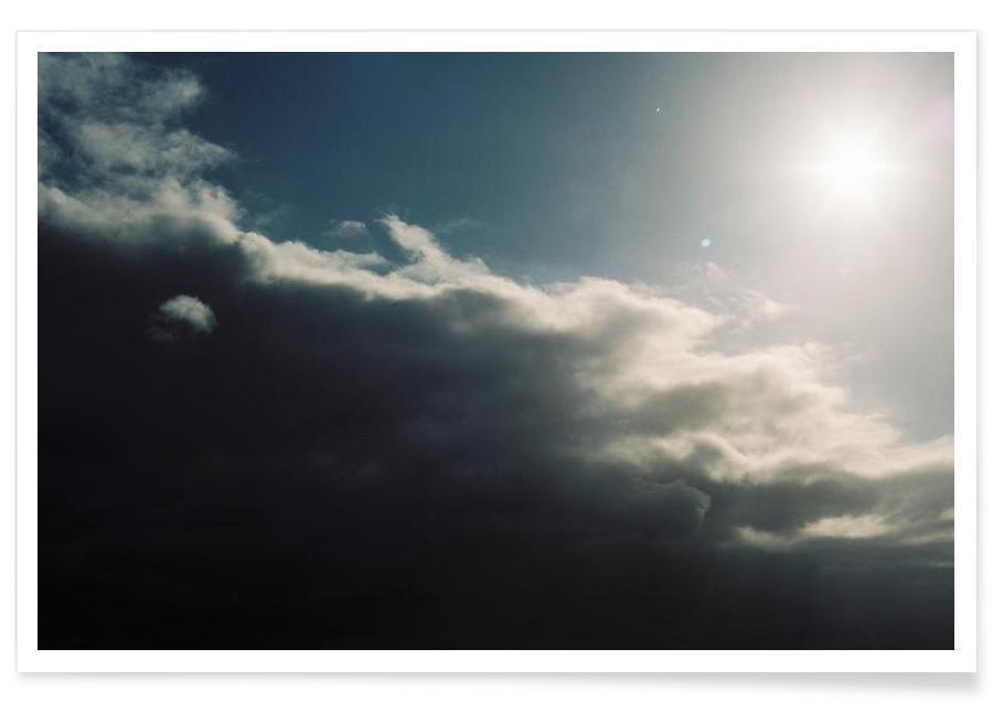 Lucht en wolken, Berlin #2 poster