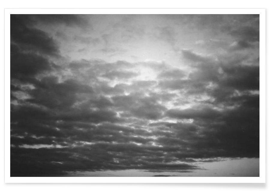 Skies & Clouds, Berlin #4 Poster