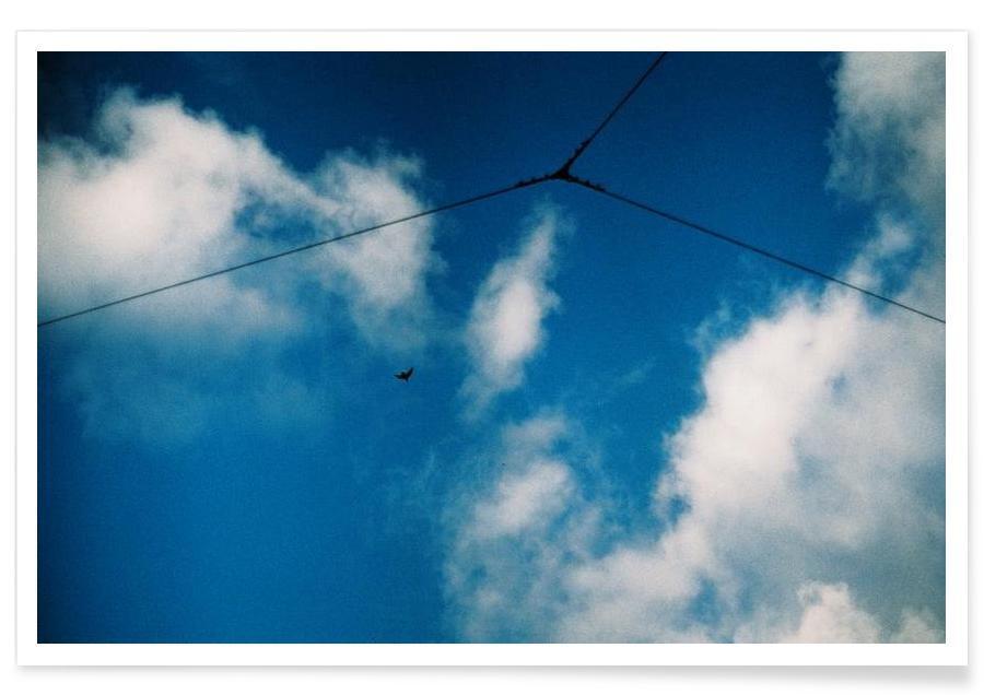 Lucht en wolken, The Blues #3 poster